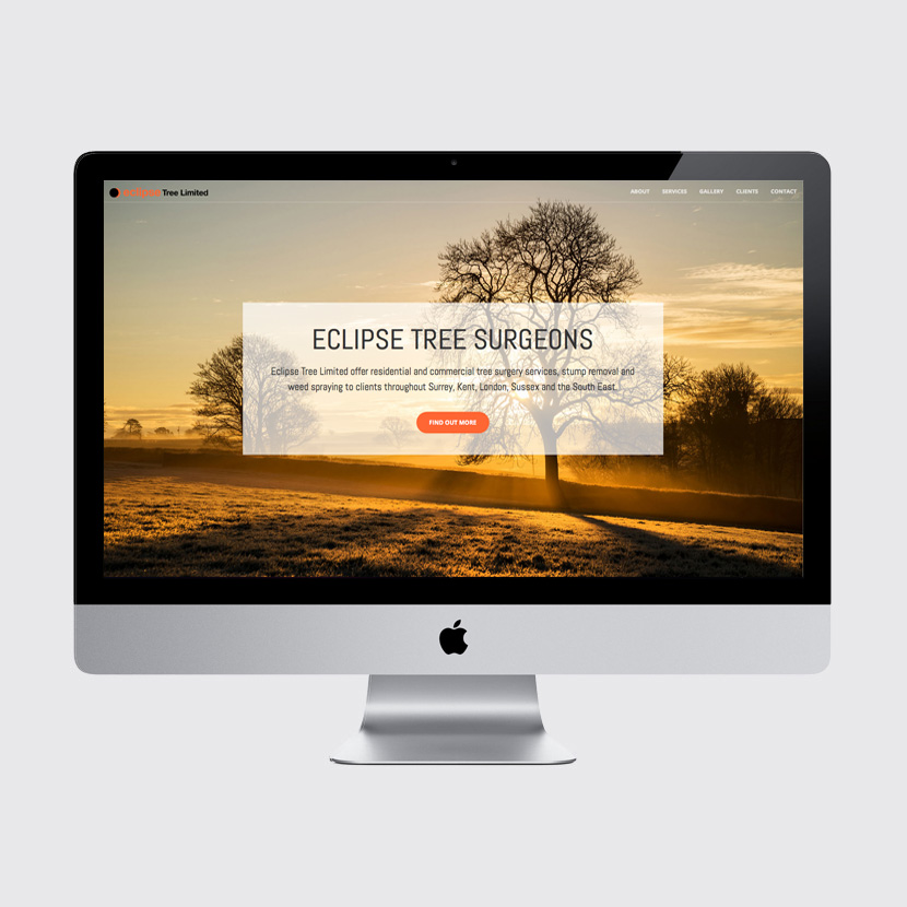 Eclipse Tree web design