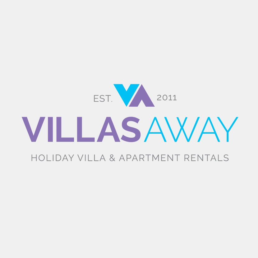 Villas Away Logo Design